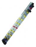 Schlammspiegelmessgerät 3 teilig, Länge 3 m, Ø 50 mm