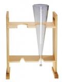 Aufnahmegestell für 2 Imhofftrichter Material Holz