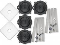 Reparatur Kit für SECOH Luftpumpe EL 200 W TWIN