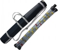 Schlammspiegelmessgerät 3-teilig, Länge 3 m, Ø 50 mm mit Köcher